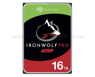 """Seagate IronWolf Pro HDD 16TB 3.5"""" 7200RPM 256MB Cache HDD (ST16000NE000)"""