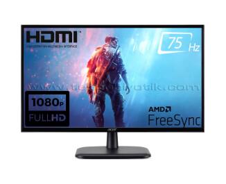 "Acer 21.5"" EK220QAbi 1920x1080 5ms 75Hz FreeSync VGA / HDMI Oyuncu Monitör"