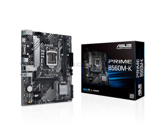 Asus Prime B560M-K LGA1200 DDR4 4800 MHZ (OC) M ATX Anakart