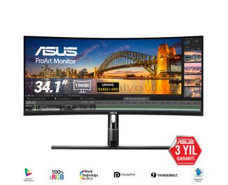 "Asus 34"" PA34VC 3440x1440  5MS HDMI Monitör"