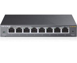 TP-Link TL-SG108E 8-Port 10/100/1000mbps Gigabit Smart Switch