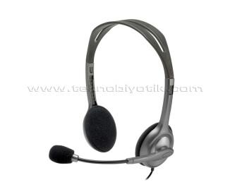 Logitech H111 Kafa Bantlı Mikrofonlu Kulaklık 981-000593