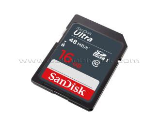 Sandisk Ultra SDHC 16GB 80MB/s Class 10 Hafıza Kartı  -  SDSDUNC-016G-GN6IN