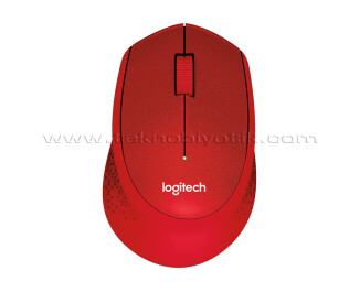 Logitech M330 Silent Kırmızı Mouse (910-004911)