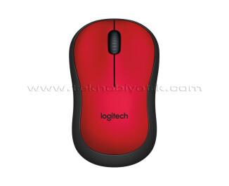 Logitech M220 Silent Kırmızı Mouse (910-004880)