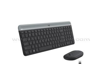 LOGİTECH MK470 Kablosuz Klavye Mouse Seti (920-009435)