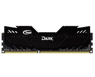 Team DDR3 4GB 2400MHz Dark Series Gaming Soğutuculu Ram Bellek (TM3D240041BLK)