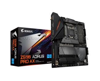 Gigabyte Z590 Aorus Pro Ax Intel LGA1200 DDR4 5400MHZ (OC) ATX Anakart
