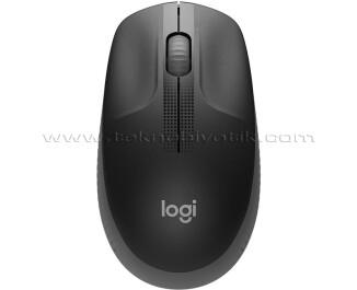 Logitech M190 Büyük Boy Kablosuz Siyah Mouse