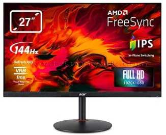 "Acer 27"" XV270P 1920x1080 1ms / 144Hz(165Hz OC) HDMI / DP FreeSync HDR10 IPS Oyuncu Monitör"