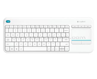 Logitech K400 Plus Dokunmatik Kablosuz Q Klavye (Beyaz) (920-007150)