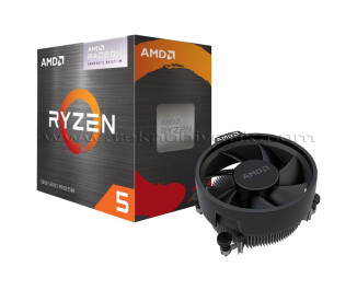 AMD Ryzen 5 5600G 3.9GHz (Turbo 4.4GHz) 6 Core 12 Threads 19MB Cache 7nm AM4 İşlemci - Kutulu Fanlı
