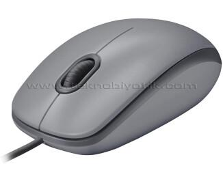Logitech M110 Sessiz Optk USB Mouse Gri 910-005490
