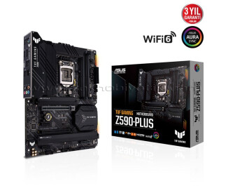 Asus Tuf Gaming Z590-Plus Intel LGA1200 DDR4 5133MHZ (OC) ATX Anakart