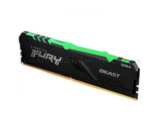 Kingston DDR4 8GB (1x8GB) 3600MHz  Fury Beast Bellek Ram (KF436C17BBA/8)