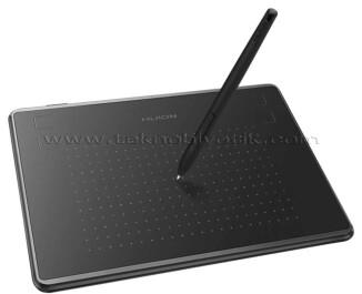 Huion Inspiroy H430P 18.6cm x 13.9cm, 4096 Kademe Basınç Hassasiyetli, 5080LPI Çözünürlük, 4 Adet Kısayol Tuşu, Pilsiz Kalemli Grafik Tablet (8 Adet Yedek Kalem Ucu Hediyeli)