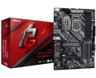 AsRock Z490 Phantom Gaming 4 LGA1200 DDR4 4400MHz+, CrossFireX, USB 3.2 Type-C, m.2, HDMI, ATX Anakart