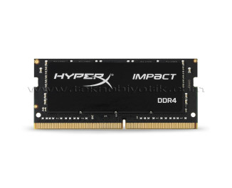 Kingston DDR4 4GB 2400MHz HyperX Impact 1.2V SODIMM Notebook Ram Bellek (HX424S14IB/4)