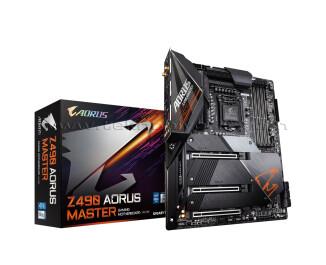 Gigabyte Z490 AORUS MASTER LGA1200, DDR4 5000MHz+ (OC), Ultra M.2, USB 3.2 Gen2, HDMI ATX RGB Anakart