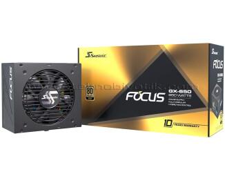 Seasonic FOCUS PLUS 650W 80+ GOLD Tam Modüler Güç Kaynağı (SSR-650FX) - FOCUS GX-650