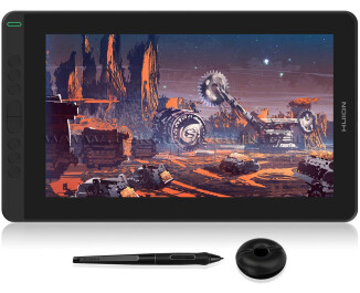 Huion Kamvas 13 IPS Panel Full HD LCD Grafik Tablet 36.65cm x 21.74cm, 8192 Kademe Basınç Hassasiyetli, 120% sRGB, 5080LPI Çözünürlük (HUGS1331)