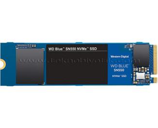WD Blue 500GB SN550 2400/950MB/sn NVMe m.2 SSD (WDS500G2B0C)