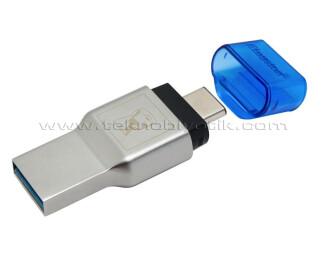 Kingston MobileLite DUO 3C USB3.1 + TypeC microSDHC (FCR-ML3C)