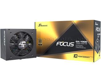 Seasonic FOCUS PLUS 1000W 80+ GOLD Tam Modüler Güç Kaynağı (SSR-1000FX)