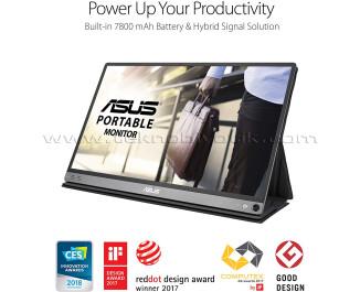 "Asus 15,6"" MB16AP 1920X1080 5Ms HDMI Monitör"