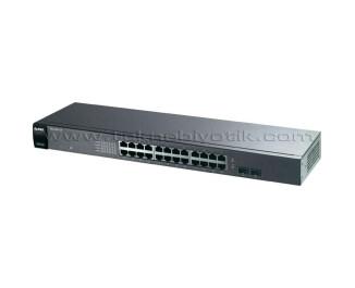 Zyxel GS1100-24 24 Port 10/100/1000 Mbps 2 x SFP Gigabit Switch