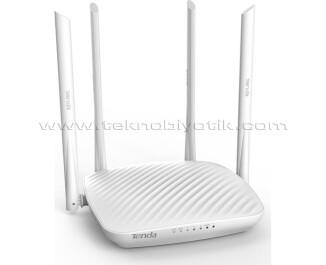 Tenda F9 4 Port 600Mbit 4 x 6dBi Antenli Kablosuz Router Menzil Genişletici