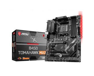 MSI B450 TOMAHAWK MAX Socket AM4, DDR4 4133MHz (OC), Ultra M.2, USB 3.1 mATX Anakart