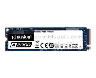 Kingston A2000 500GB 2200MB/2000MBs NVMe PCIe M2 SSD (SA2000M8/500G)