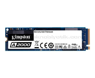 Kingston A2000 500GB 2200MB/2000MBs NVMe PCIe M2 SSD (SA2000M8/500G)