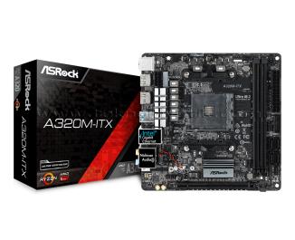 Asrock A320M-ITX Socket AM4, DDR4 3466MHz+ (OC), Ultra M.2, USB 3.1 Gen1, 2xHDMI RGB mini-ITX Anakart