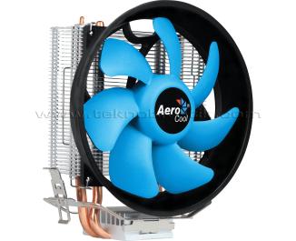 Aerocool Verkho2 Plus 12cm Fan, 2x6mm Isı Borusu, 4pin PWM Intel / AMD Uyumlu İşlemci Soğutucusu (AE-CC-VERKHO2P)