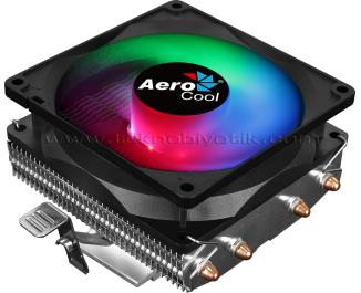 Aerocool Air Frost 4 Fixed RGB 9cm Fanlı, Intel / AMD Uyumlu İşlemci Soğutucusu (AE-CC-AF4)