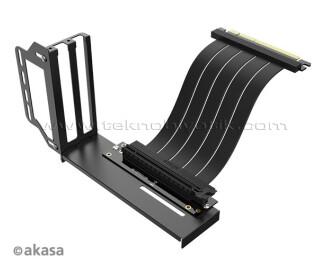 Akasa Riser Black PRO Dikey Ekran Kartı Bağlama Aparatı VGA Vertical GPU Holder Riser Card (AK-CBPE02-20B)