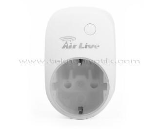 AirLive Akıllı Ev Güvenlik Sistemi İçin Yönetilebilir Akıllı Priz (AL-SP-101-DE)