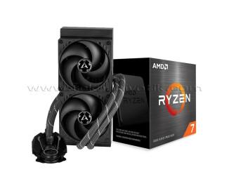 AMD Ryzen™ 7 5800X 3.8GHz AM4 İşlemci + Arctic Liquid Freezer II - 240mm Sıvı Soğutma
