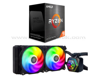 AMD Ryzen™ 9 5900X 3.7GHz + SilverStone PF240 ARGB 240mm Sıvı Soğutma