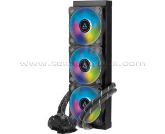 Arctic Liquid Freezer II - 360 A-RGB Intel / AMD Uyumlu, 360mm Radyatörlü, 3x12cm P12 PWM Fanlı, Sıvı İşlemci Soğutucu (AR-ACFRE00101A)