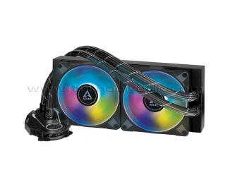 Arctic Liquid Freezer II - 240 A-RGB Intel / AMD Uyumlu, 240mm Radyatörlü, 2x12cm P12 PWM Fanlı, Sıvı İşlemci Soğutucu (AR-ACFRE00093A)