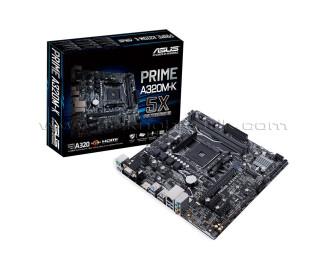 Asus PRIME A320M-K AM4 DDR4 HDMI VGA M.2 AMD A320 USB 3.0 mATX Anakart