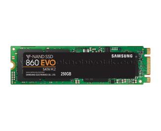 Samsung 860 EVO 250GB 550-520MB/s SATA M2 SSD (MZ-N6E250BW)