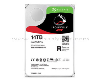 """Seagate IronWolf Pro HDD 14 TB 3.5"""" 7200RPM 256MB Cache HDD (ST14000NE0008)"""