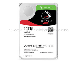"""Seagate IronWolf NAS HDD 14TB 3.5"""" 7200RPM 256MB Cache HDD (ST14000VN0008)"""