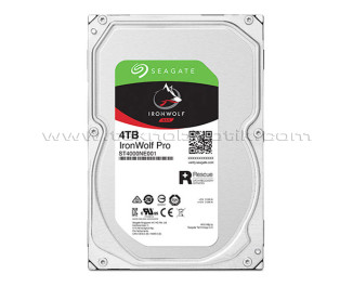"""Seagate IronWolf Pro HDD 4TB 3.5"""" 7200RPM 256MB Cache HDD (ST4000NE001)"""