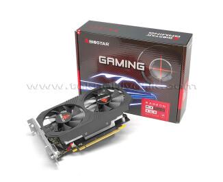 BIOSTAR Radeon RX560 4GB (Dual Cooling) 128Bit GDDR5 Ekran Kartı (VA56C5RF41)