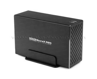 Dark StoreX R20 Çift HDD Disk Destekli Fanlı Alüminyum USB 3.0 Disk Kutusu (DK-AC-DSX21U3R)